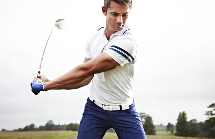 Dressing for success and the optimal swing on the golf course